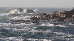 Wild rolling atlantic waves 7 Stock Footage