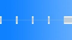 Time Signal Pips short x 4 1 long 1kHz -14dbFS - sound effect