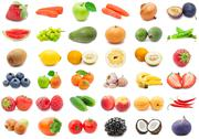 Stock Illustration of Fruits and Vegetables