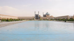 Imam Mosque in Isfahan, Iran Stock Footage