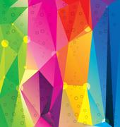 Stock Illustration of Abstract triangles