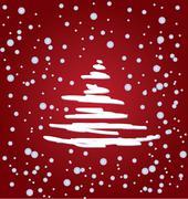 Stock Illustration of christmas tree