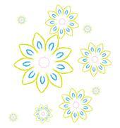 Stock Illustration of Flower pattern