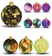 Stock Illustration of New Years  balls