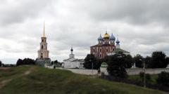 Ryazan Kremlin Stock Footage
