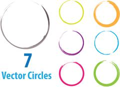 Stock Illustration of vector circles