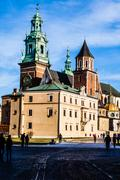 Stock Photo of wawel cathedral - famous polish landmark on the wawel hill in cracow