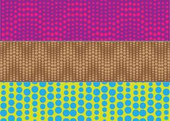 texture banner halftone - stock illustration
