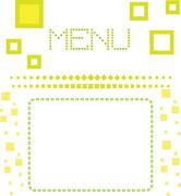 Stock Illustration of restaurant menu