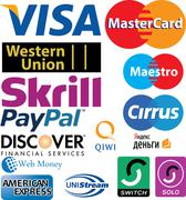 Stock Illustration of credit card logos