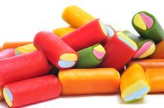 liquorice candies - stock photo