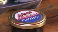 Caviar - stock footage
