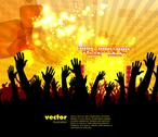 Stock Illustration of Music background. Vector