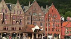 Hanseatic buildings Stock Footage