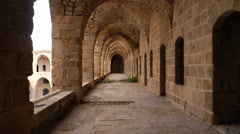 Acre fortress 0411 1 - stock footage