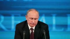 Vladimir Putin Stock Footage