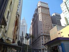 Sao Paulo downtown - stock photo