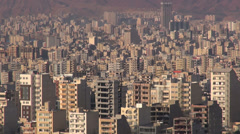 Tabriz skyline, Iran Stock Footage