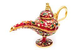 Aladdin Magic Lamp Stock Photos