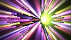 Volumetric lights background. - stock footage