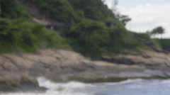 Brazilian model portrait- Rio De Janeiro beach Stock Footage