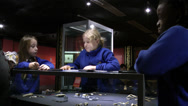 Stock Video Footage of Children Learning at a Museum