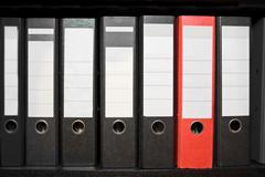 Stock Photo of archive folder