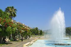 Massena-aukiolla kaupungin Nizzassa, Ranskassa Kuvituskuvat