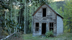 Scary Abandoned House Ghost Town Horror 2 Stock Footage