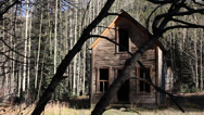 Stock Video Footage of Scary Abandoned House Ghost Town Horror