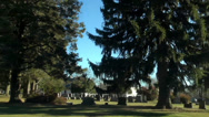 Stock Video Footage of cemetary