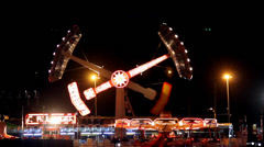 Amusement Park 5 - stock footage