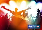 Stock Illustration of Music event background