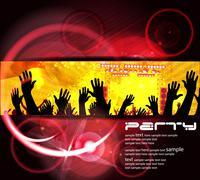 Stock Illustration of Music event illustration