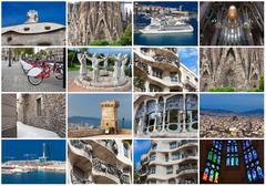 Barcelona Stock Illustration