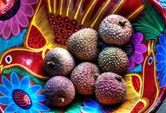 Lychee fruit - stock photo