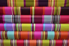 Multicolor cloth background Stock Photos