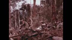 Vietnam War - Dag To Battle - Attack 01 Stock Footage