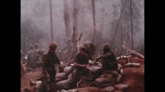 Vietnam War - Dag To Battle - Frontline 02 Stock Footage