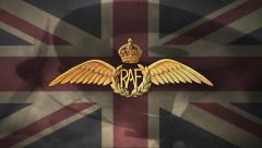 RAF Defenders (WWII) - Royal Air Force / Battle of Britain Stock Footage