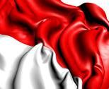 Stock Illustration of flag of indonesia
