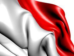 Flag of indonesia Stock Illustration