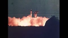 Stock Video Footage of Cold War - Nuclear Arsenal 01