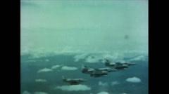 Vietnam War - Operation Piranha 1965 - A4 - JATO attack 01 Stock Footage