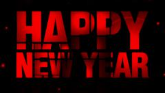 New year piece of text effects 15 Stock Footage