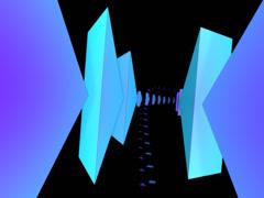 PYRAMIDS 019 vj loop WEB with alpha Stock Footage