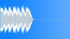 Winning Sound 5  (dry version) - sound effect