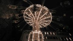 Stock Video Footage of amusement park. carousel. carnival. activity fun ride