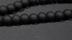 Black jewellery - stock footage