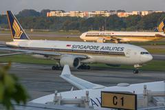 Singapore airline Stock Photos